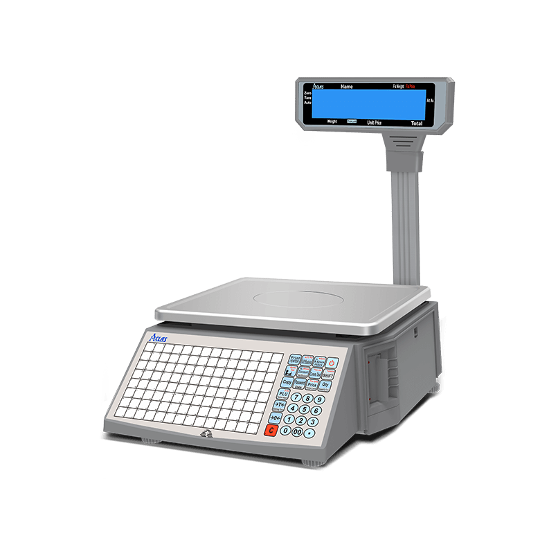 linerless label scale