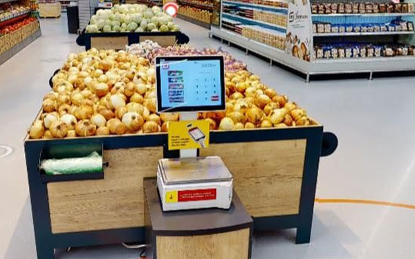 TS5X POS SCALE IN Magnit