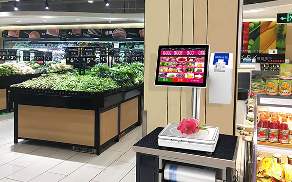 ts3x pos scale in Yonghui Superstores