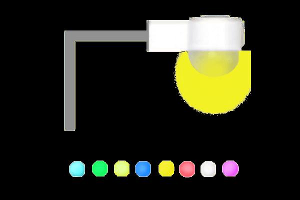 8-color light
